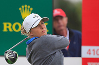Sarah Kemp (AUS) on the 18th tee during Round 2 of the Ricoh Women's British Open at Royal Lytham &amp; St. Annes on Friday 3rd August 2018.<br /> Picture:  Thos Caffrey / Golffile<br /> <br /> All photo usage must carry mandatory copyright credit (&copy; Golffile | Thos Caffrey)
