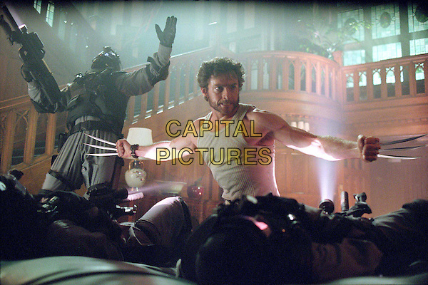 HUGH JACKMAN.X2: X MEN UNITED.Filmstill - Editorial Use Only.CAP/AWFF.Supplied by Capital Pictures.