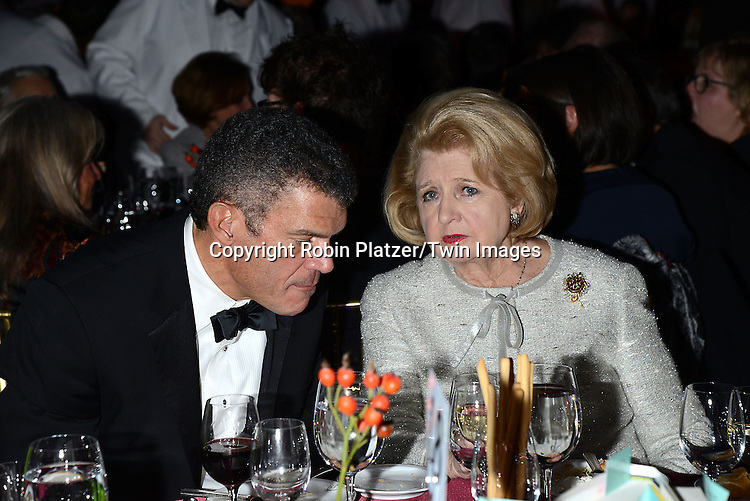 Mark Whitaker and Shirley Lord attends the 65th Annual National Book Awards on November 19, 2014 at Cipriani Wall Street in New York City. <br /> <br /> photo by Robin Platzer/Twin Images<br />  <br /> phone number 212-935-0770