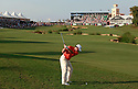 WESTWOOD Lee (ENG) in action during the second round of the Dubai World Championship presented by DP World, played over the Earth Course, Jumeira Golf Estates on 26th November 2010 in Dubai, UAE......