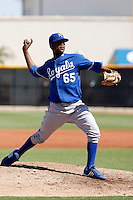 Sugar Ray Marimon - Kansas City Royals 2009 Instructional League. .Photo by:  Bill Mitchell/Four Seam Images..