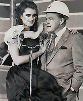 Bob Hope & Brook Shields 1978<br /> Photo By John Barrett-PHOTOlink.net