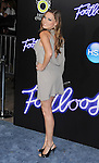 "WESTWOOD, CA - OCTOBER 03: Clare Grant attends the ""Footloose"" Los Angeles Premiere at Regency Village Theatre on October 3, 2011 in Westwood, California."
