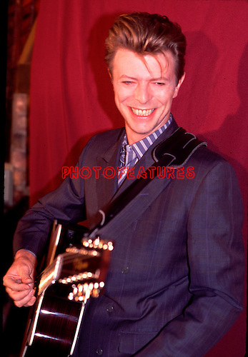 David Bowie 1990<br /> &copy; Chris Walter