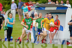 Brian McGuire Feale Rangers in action against Darran O'Sullivan Mid Kerry in the First Round of the Kerry Senior Football Championship at O'Rahilly Park Ballylongford on Sunday.
