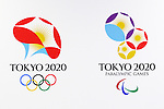 General view, April 8, 2016 : <br /> The Tokyo 2020 Emblems Selection Committee unveiled Shortlisted Emblem designs in Tokyo, Japan. (Photo by Yohei Osada/AFLO SPORT)