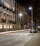 Rotterdam, 16 maart 2010<br /> Straatlantarens met Philips LED-verlichting aan de Willemskade<br /> Foto Felix Kalkman