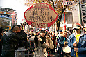 Protest against Japan's Secrecy Bill