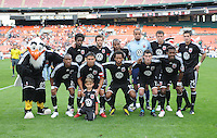 DC United Staring Eleven.  The San Jose Earthquakes defeated DC United 2-1 at RFK Stadium, Sunday September 27, 2009.