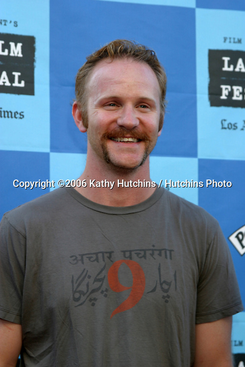 "Morgan Spurlock.""Little Miss Sunshine"" Premiere.Wadsworth Theater.Westwood, CA.July 2, 2006.©2006 Kathy Hutchins / Hutchins Photo...."