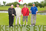 The Kerry Council who put a team in the Oystrer Tavern Golf Classic on Saturday, l-r: Chris Molly, Colm Rogers, Kevin Kerins and John Bowler.....