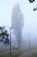 CURITIBA, PR, 04.06.2014 - CLIMA TEMPO / CURITIBA -  Vista do Parque Parigui, em Curitiba na manha desta quarta-feira (4) , segundo a Simepar Curitiba teve minima de 2,6 no inicio da manhã, a menor temperatura já registrada no ano. (Foto: Paulo Lisboa / Brazil Photo Press)