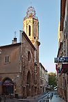 Bell tower of the Augustine order, on the Rue Espariat, Aix-en-Provence, Provence, France.