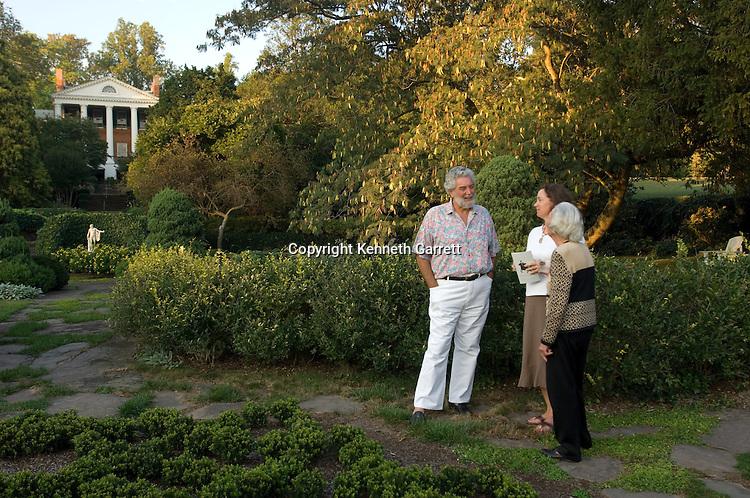 Oak Hill, James Monroe's second home, Tom Delashmut in Garden, Loudoun County, VA