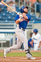 August 19,2010 Corey Brown (25) in action during the MiLB game between the Midland RockHounds and the Tulsa Drillers at OneOk Field in Tulsa Oklahoma.
