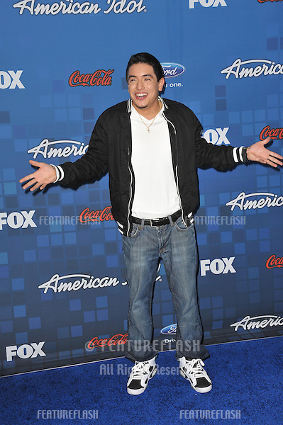 Stefano Lagone at the American Idol Finalists Party at The Grove Los Angeles..March 3, 2011  Los Angeles, CA.Picture: Paul Smith / Featureflash