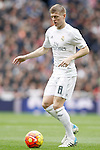 Real Madrid's Toni Kroos during La Liga match. February 13,2016. (ALTERPHOTOS/Acero)