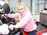 Shauna callan from St Ita's school pictured at The Run Of The Country charity motorcycle run. Photo:Colin Bell/pressphotos.ie