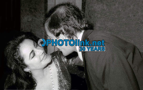 Elizabeth Taylor and Steve Rubell 1978<br /> Photo By John Barrett/PHOTOlink