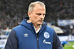 16.03.2019, VELTINS-Arena, Gelsenkirchen, GER, DFL, 1. BL, FC Schalke 04 vs RB Leipzig, DFL regulations prohibit any use of photographs as image sequences and/or quasi-video<br /> <br /> im Bild Jochen Schneider (FC Schalke 04) Portrait, halbportrait, Bild, einzel, Einzelaufnahme, picture, single, solo, alleine <br /> <br /> Foto © nph/Mauelshagen