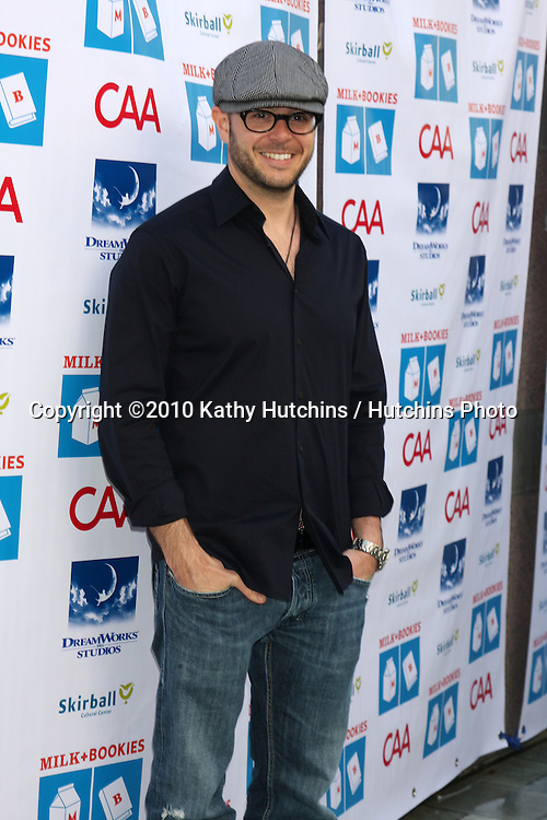 Damon Lindelof.arriving at the Milk And Bookies First Annual Story Time Celebration.Skirball Cultural Center.Los Angeles, CA.February 28, 2010.©2010 Kathy Hutchins / Hutchins Photo....