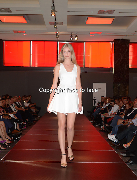 Catwalk / Modenschau at the Ewa Herzog Fashion Show at the Hotel Intercontinantal during Mercedes Benz Fashion Week Berlin, 03.07.2013.<br /> Credit: E. Schroeder/face to face