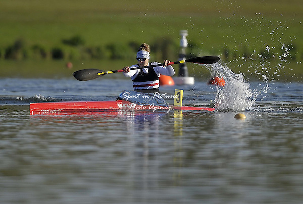 Hannah Brown. Womens K1 200m Final. Day 2. British Canoeing Sprint Olympic trials. National Water Sports Centre. Holme Pierrepont. Nottingham. UK. 18/04/2016. ~ MANDATORY Credit Garry Bowden/Sportinpictures - NO UNAUTHORISED USE - 07837 394578