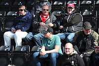 Lincoln City fans enjoy the pre-match atmosphere<br /> <br /> Photographer Andrew Vaughan/CameraSport<br /> <br /> The EFL Sky Bet League Two - Lincoln City v Cheltenham Town - Saturday 13th April 2019 - Sincil Bank - Lincoln<br /> <br /> World Copyright © 2019 CameraSport. All rights reserved. 43 Linden Ave. Countesthorpe. Leicester. England. LE8 5PG - Tel: +44 (0) 116 277 4147 - admin@camerasport.com - www.camerasport.com