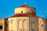 The Pre-Romanesque Byzantine St Donat's Church. Zadar, Croatia