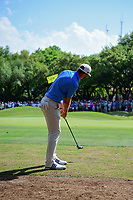 Dustin Johnson (USA) putts on 7 during round 7 of the World Golf Championships, Dell Technologies Match Play, Austin Country Club, Austin, Texas, USA. 3/26/2017.<br /> Picture: Golffile | Ken Murray<br /> <br /> <br /> All photo usage must carry mandatory copyright credit (&copy; Golffile | Ken Murray)