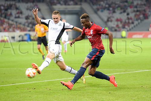18.09.2014. Lille, France. Europa League football group stages. Lille versus Krasnodar.  Divock ORIGI (lille)