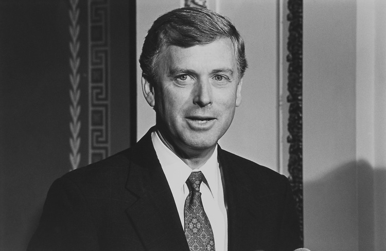 Former Vice President Dan Quayle, on March 15, 1999. (Photo by Chris Ayers/CQ Roll Call via Getty Images)