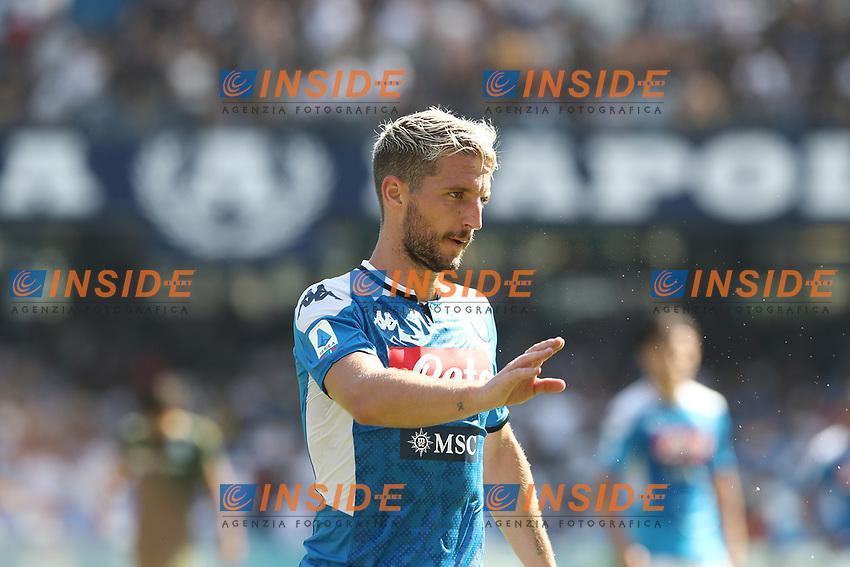 Dries Mertens of Napoli gestures<br /> Napoli 29-9-2019 Stadio San Paolo <br /> Football Serie A 2019/2020 <br /> SSC Napoli - Brescia FC<br /> Photo Cesare Purini / Insidefoto