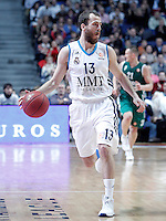 Real Madrid's Sergio Rodriguez during Euroleague 2012/2013 match.January 11,2013. (ALTERPHOTOS/Acero) /NortePhoto