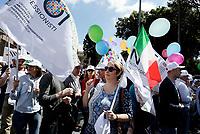 Roma, 13 Maggio 2017<br /> Manifestazione Nazionale Noi Professionisti.<br /> Avvocati, ingegneri, architetti ecc protestano per una legge che introducano il giusto compenso