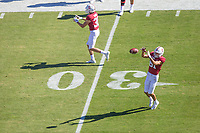 STANFORD, CA - September 15, 2018: Brycen Tremayne at Stanford Stadium. The Stanford Cardinal defeated UC Davis, 30-10.