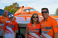 "Rich Falcinelli, Connor Harnack, Vallery Anne and Chris Ritz, Y-2 ""Orange Crate""                (1 Litre MOD hydroplane(s)"