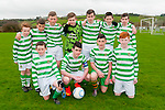 Listowel Celtic U/14 Soccer Team : Front : Killian Fealy, Cian McGrath, Jacub Lucy & Darragh Lynch. Back : Niall Lynch, Jake Brosnan, Shane McGrath, Jack Kirby, Liam Guiney, Darraggh Keane & Dennis Coffey.