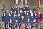 Pupils from 6th Class Ardfert NS who were confirmed on Tuesday in St Brendans Church, Ardfert they wereAmela Antz, Amy casey, Conágh Fitzgerald, Aoife Lyne, Christina O'Doherty, Vicky perry and Ailise Ryan. David Fitzgerald, Zyndir Griffin, Colm Healy, Gavin Hussey, Oisín Le Gros, Trevor Leen, Darragh Louth, Niall Marley, Ronan McElligott, Jack Murphy, Brian O'Regan, Niall O'Shea, David Ryle, Joseph Trant and Gavin Curran Marie O'Connell (teacher) and Fr Tadgh Fitzgerald.
