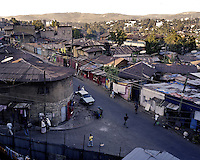A view of the Piazza neighborhood in Ethiopia's capital Addis Ababa on Monday  November 9, 2009.