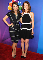 NEW YORK CITY, NY, USA - MAY 12: Tina Fey, Ellie Kemper at the 2014 NBC Upfront Presentation held at the Jacob K. Javits Convention Center on May 12, 2014 in New York City, New York, United States. (Photo by Celebrity Monitor)