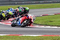 3rd November 2019; Sepang Circuit, Sepang Malaysia; MotoGP Malaysia, Race Day;  Pramac Racing rider Jack Miller during the race - Editorial Use