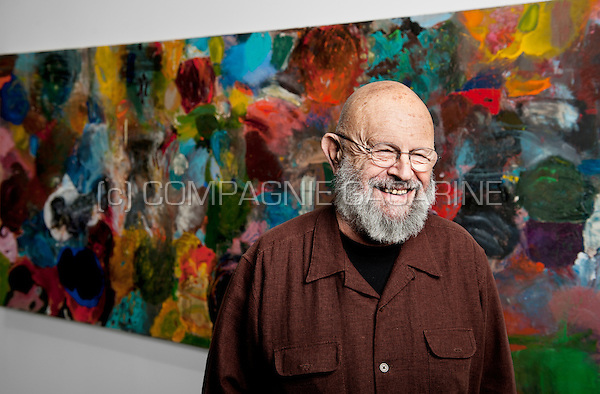 American pop artist and painter Jim Dine (Belgium, 05/11/2014)