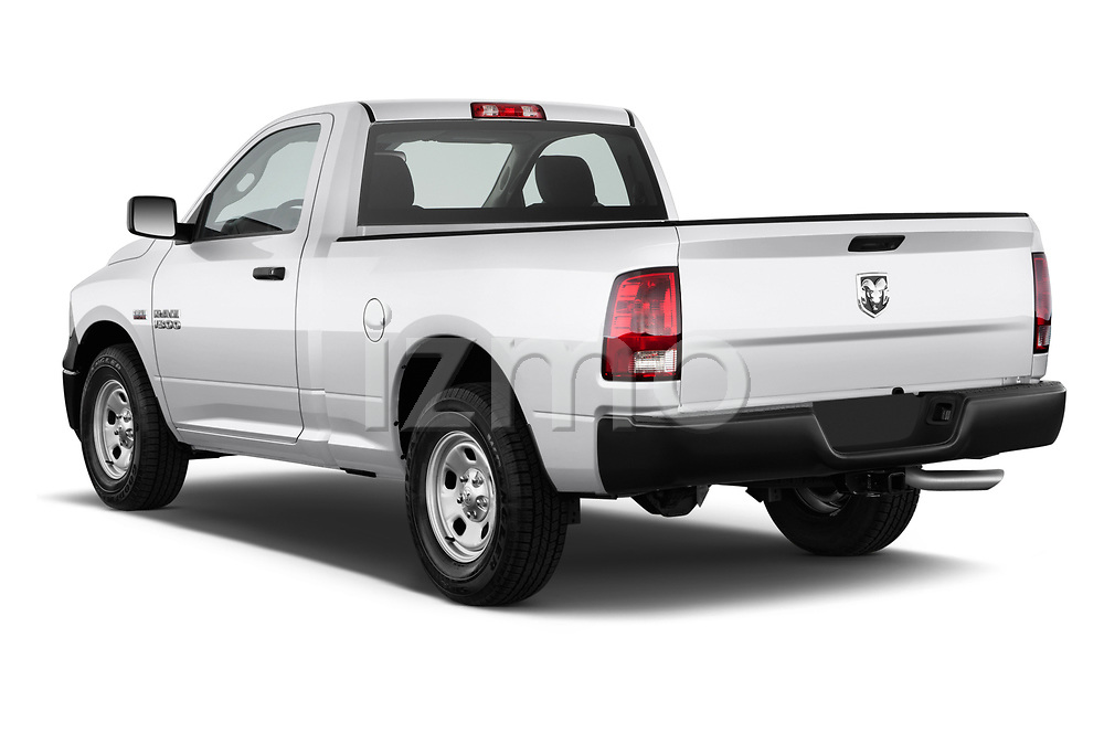 Rear three quarter view of a 2013 Dodge Ram 1500 Tradesman Regular Cab