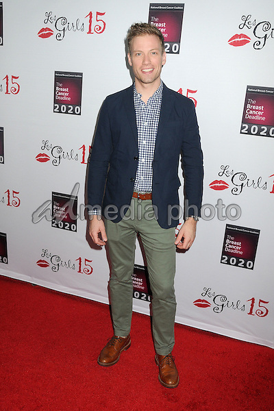 11 October 2015 - Hollywood, California - Barrett Foa. 15th Annual Les Girls Cabaret held at Avalon. Photo Credit: Byron Purvis/AdMedia