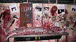 Set Design at the Media Preview and Party for 'Blood Manor' - New York City's Premier Haunted Attraction at 163 Varick Street in New York. Sept. 26, 2012