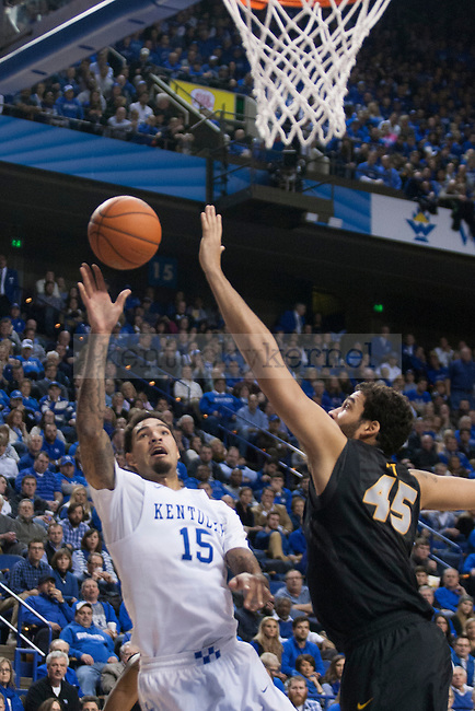Center Willie Cauley-Stein of the Kentucky Wildcats shoots during the game against the Missouri Tigers at Rupp Arena on Tuesday, January 13, 2015 in in Lexington, Ky. Kentucky defeated Missouri 86-37. Photo by Michael Reaves | Staff