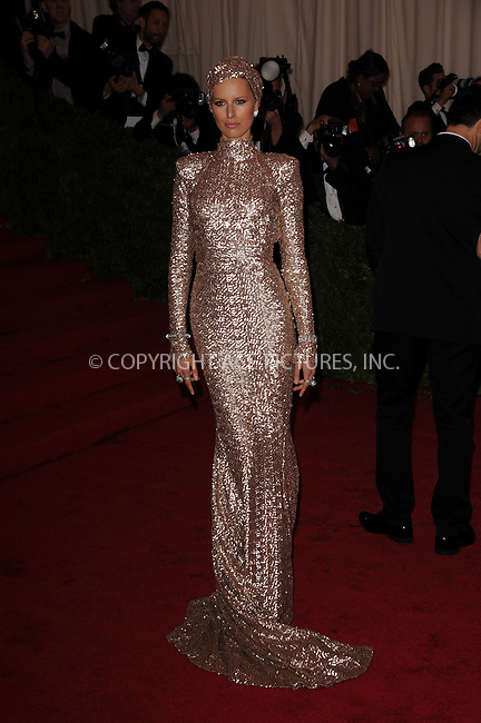WWW.ACEPIXS.COM . . . . . ....May 7 2012, New York City....Karolina Kurkova arriving at the 'Schiaparelli And Prada: Impossible Conversations' Costume Institute Gala at the Metropolitan Museum of Art on May 7, 2012 in New York City.....Please byline: KRISTIN CALLAHAN - ACEPIXS.COM.. . . . . . ..Ace Pictures, Inc:  ..(212) 243-8787 or (646) 679 0430..e-mail: picturedesk@acepixs.com..web: http://www.acepixs.com