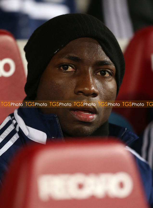 New West Ham signing Pablo Armero - West Ham United vs Norwich City, Barclays Premier League at Upton Park, West Ham - 11/02/14 - MANDATORY CREDIT: Rob Newell/TGSPHOTO - Self billing applies where appropriate - 0845 094 6026 - contact@tgsphoto.co.uk - NO UNPAID USE
