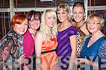 Staff of Geraldines Hairdressers enjoying their Christmas  party at Pomo Doro, Tralee, on Saturday Night..From Left: Geraldine Flynn, Pamela Teehan, Sinead McMahon, Carrie Griffin Selina Griffin, Frances Moriarty.   Copyright Kerry's Eye 2008